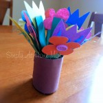 Mother's Day Flowers Paper Craft