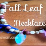 Easy Fall Leaf Necklace