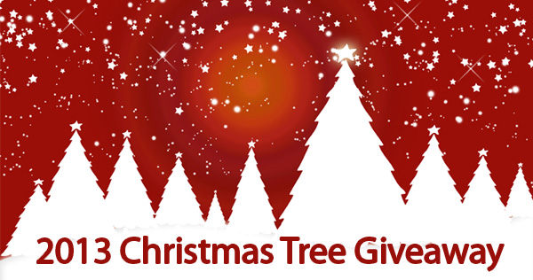 christmas tree giveaway