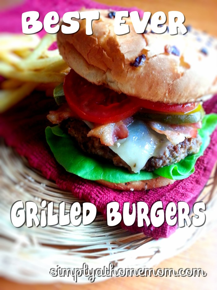best ever grilled burgers