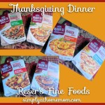 Thankgiving Dinner Made Easy With Reser's Fine Foods