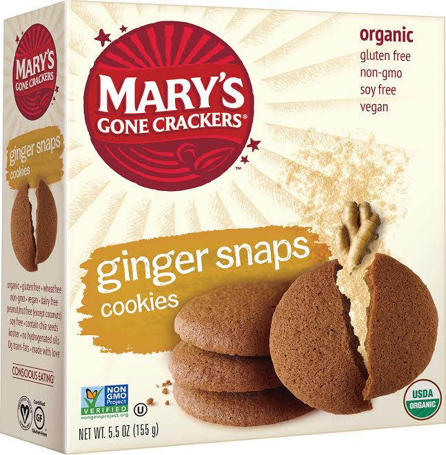 gingersnaps mary's gone crackers