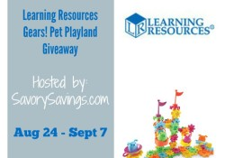 Learning Resources Gears Pet Playland Giveaway