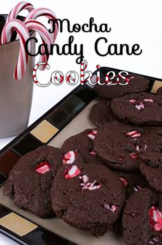 mocha candy cane cookies recipe