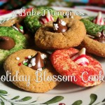 Easy Holiday Blossom Cookies For Christmas #BakeMemories