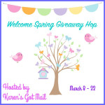 $25 Amazon Gift Card Giveaway Simply At Home Mom #WelcomeSpringHop