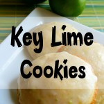 Tangy Key Lime Cookies #Recipe
