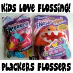 Kids Love Flossing With Plackers Flossers & Flosser Friend #Review