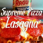 Supreme Pizza Lasagna