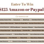 $125 Amazon or Paypal Giveaway! Winner's Choice!