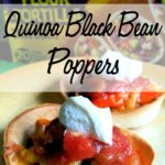Quinoa Black Bean Poppers