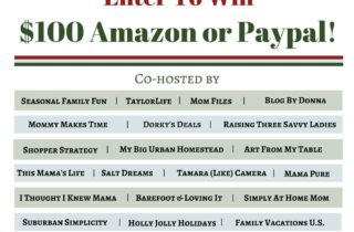 Happy Holidays! $100 Amazon or Paypal Giveaway!