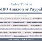 Happy New Year! $100 Amazon or Paypal Giveaway!