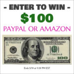 Amazing $100 Amazon or Paypal Giveaway!